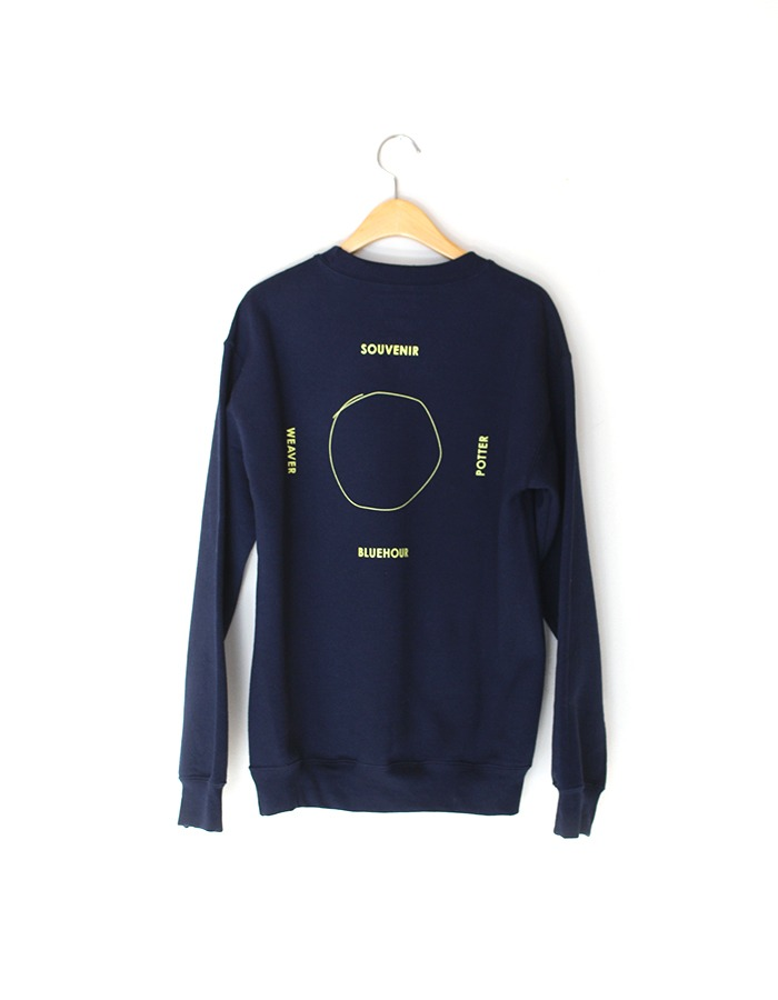 blue hour) mirabelle sweat shirts (3colors)