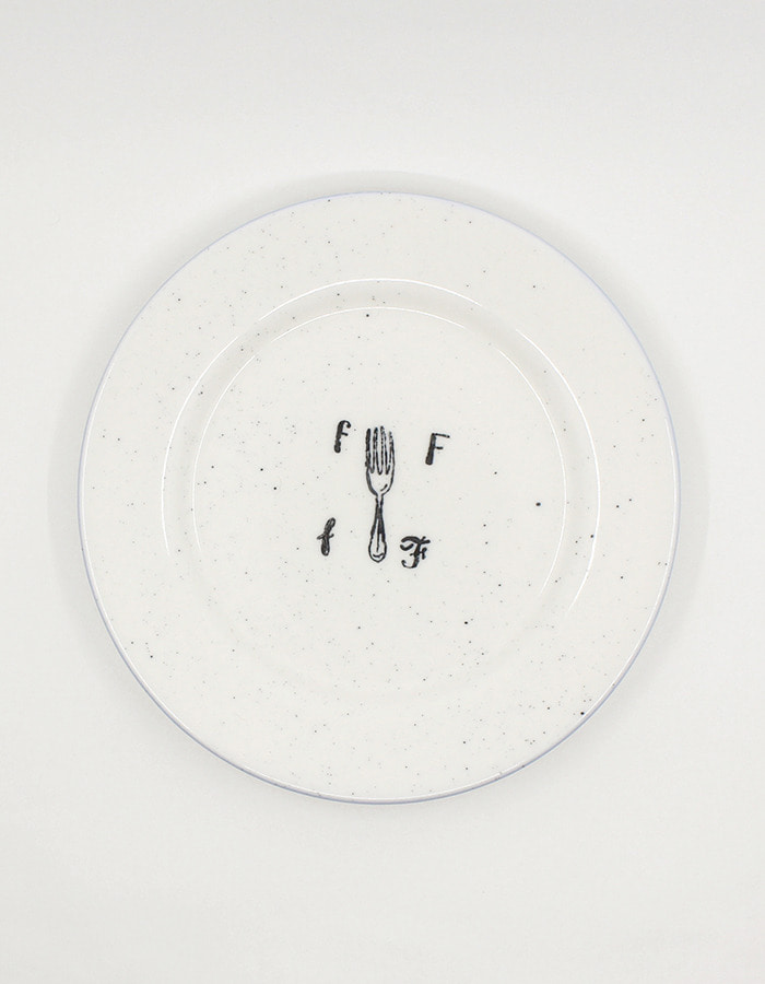 Only al,thing) youandwednesday 1930s alphabet bowl & plate - fork - 5차 재입고(선주문 가능, 9월 첫째주 발송 가능)