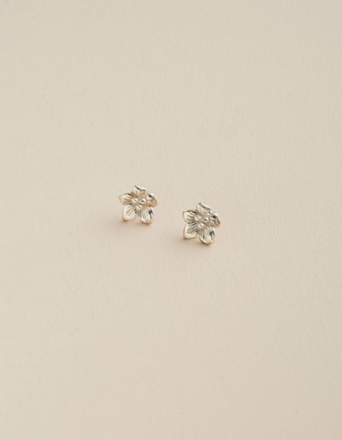 pi seoul) flower earring