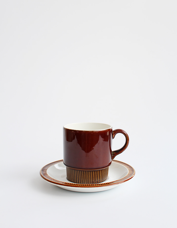 poole) parkstone cup&saucer (b급) - 재입고