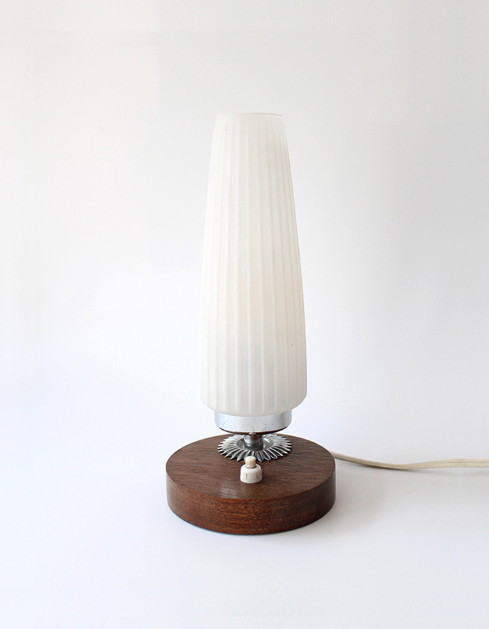 vintage) 1960s table lamp - From Belgium