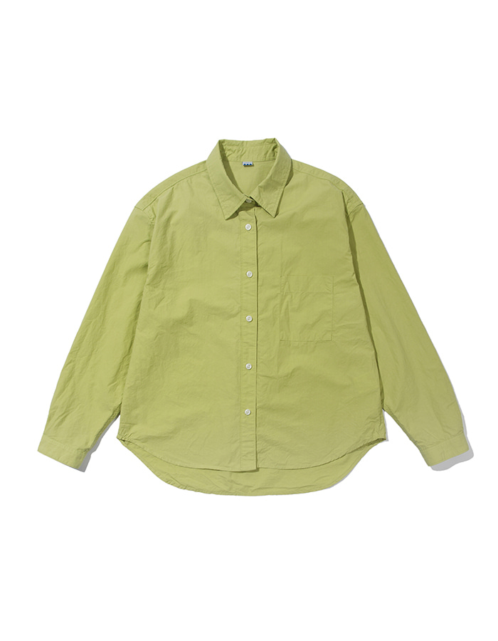 softer) crop wide shirt (3colors)