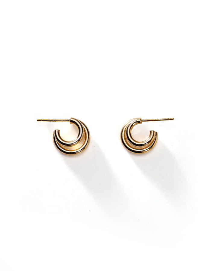 lsey) Twin line earring
