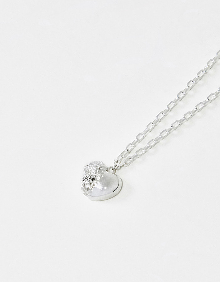 pi seoul) shape of love necklace 01
