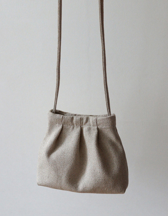makeforests) Natural Linen Pottery Bag