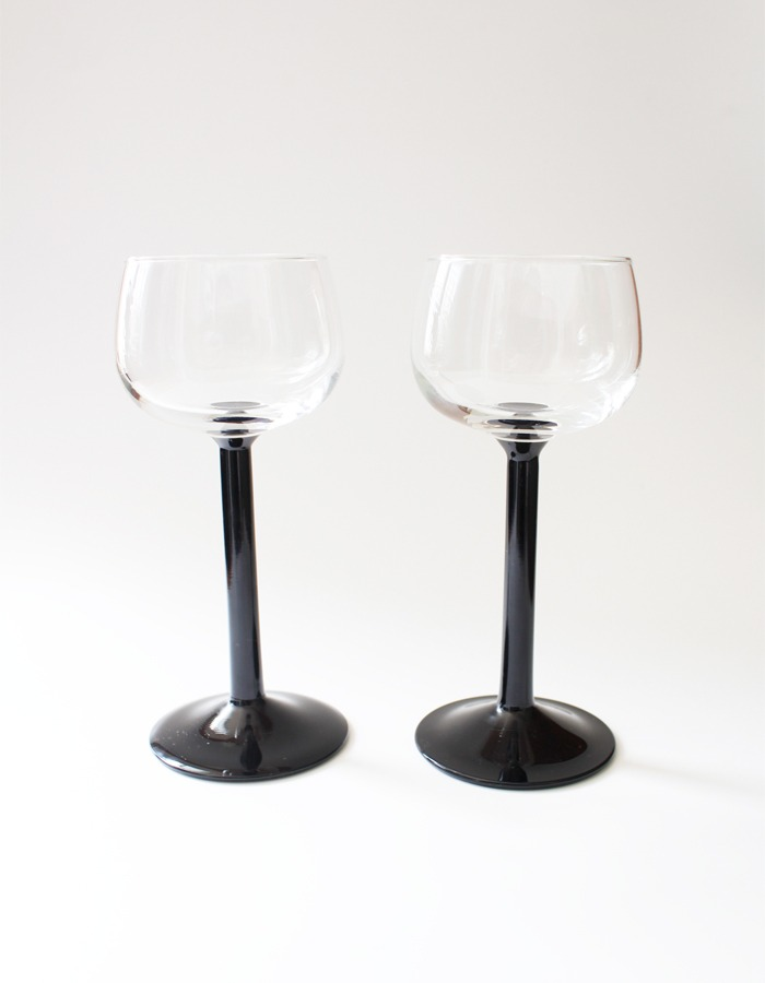 luminarc) black wine glass - 6차 재입고