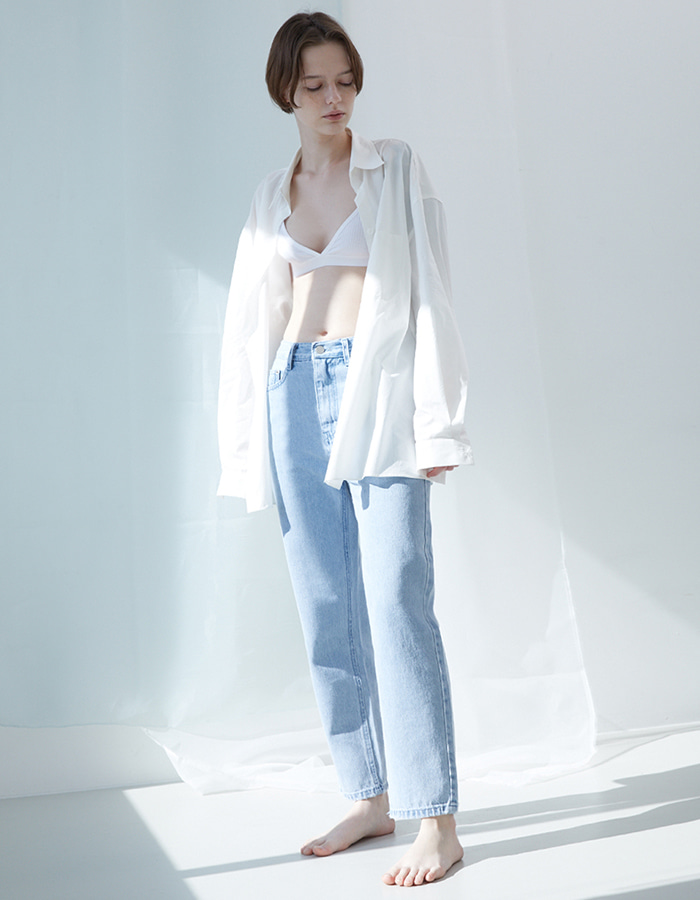 hier) basic denim (light blue) - 마지막 제품