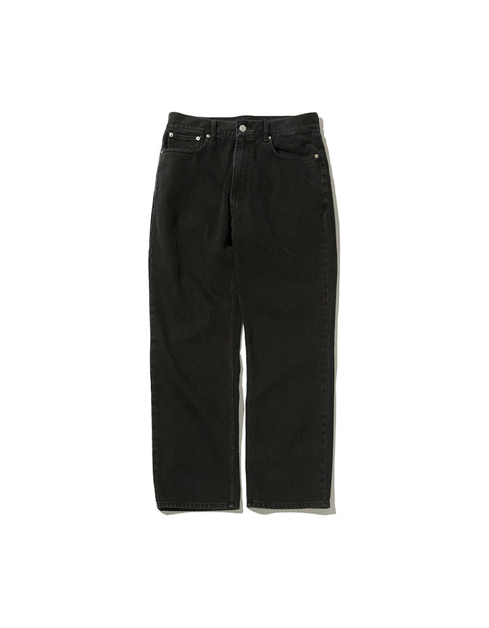 softur) regular denim pants (2colors)